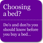 Top tips on choosing a bed