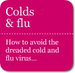 Colds and flu. How to avoid the flu virus